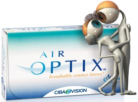 lentile de contact Air Optix