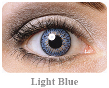 Lentile de contact Expressions Colors, culoare light blue