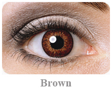 Lentile de contact Expressions Colors, culoare brown