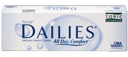 Lentile de contact Dailies - All Day Comfort Toric