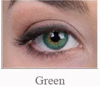 Lentile de contact Pretty Eyes Daily Color, culoare green