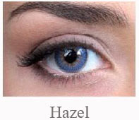 Lentile de contact Pretty Eyes Daily Color, culoare hazel
