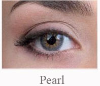 Lentile de contact Pretty Eyes Daily Color, culoare pearl