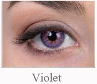Lentile de contact Pretty Eyes Daily Color, culoare violet